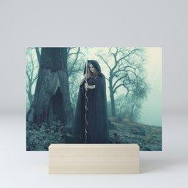 Dark Magician Mini Art Print