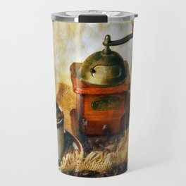 Coffee Grinder and Coffee Cup Travel Mug