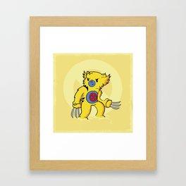 Carebearine Framed Art Print