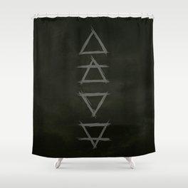 Alchemy. elements. witchcraft. nature. Shower Curtain