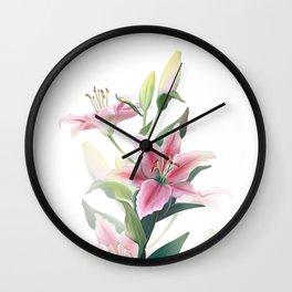 Lilium Wall Clock