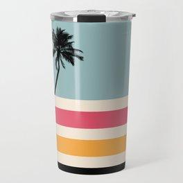 Retro Sunset 01 Travel Mug