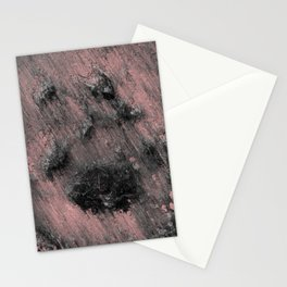 Remains of a Meditating Monk Stationery Cards