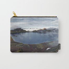 Crater lake of active volcano on Kamchatka Peninsula Carry-All Pouch