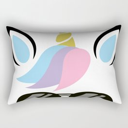 I'm A Unicorn With glasses Costume - FUNNY HALLOWEEN Rectangular Pillow