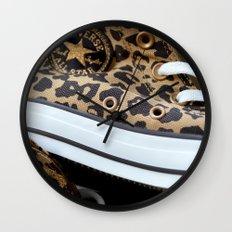 Converse leopard All Stars Wall Clock