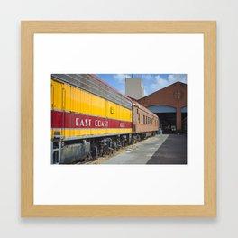 East Coat Locomotive Framed Art Print