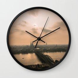 Cologne, Germany Wall Clock