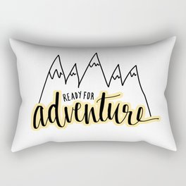 Ready For Adventure Rectangular Pillow