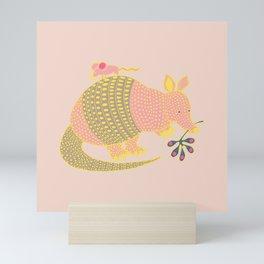 Armadillo Mini Art Print