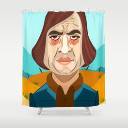 No Country For Old Men Shower Curtain