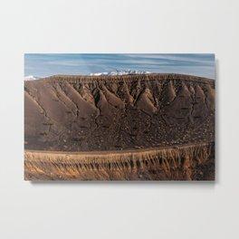 Little Hebe Crater Metal Print