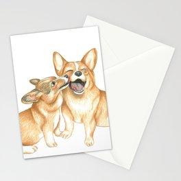 Corgi and Bess Stationery Cards