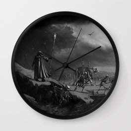 March of the Necromancer Wall Clock