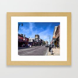 Beale Street Framed Art Print