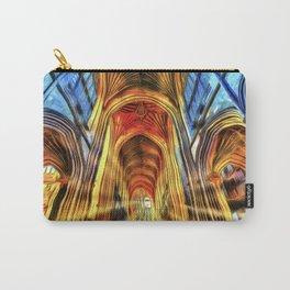Bath Abbey Sun Rays Van Goth Carry-All Pouch