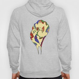 Bird and flowers Hoody
