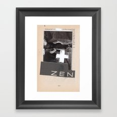 bookmark series pg 414 Framed Art Print