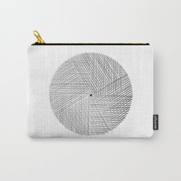 Circular Lines* Carry-All Pouch
