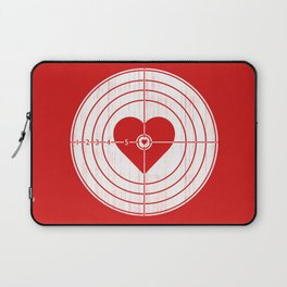 Hit Me in the Heart Laptop Sleeve