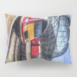 Kings Cross London Trains Pillow Sham