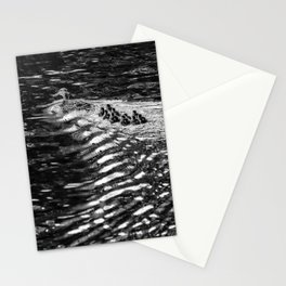 Ten Little Mallards and Mama bw Stationery Cards