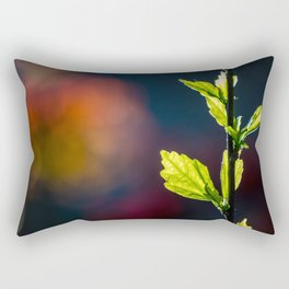 Leaves in a colorful world Rectangular Pillow