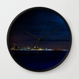 On the Mersey Wall Clock