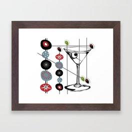Mid-Century Modern Art Atomic Cocktail 3.0 Framed Art Print