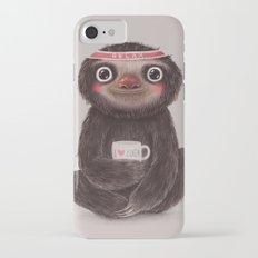 Sloth I♥yoga iPhone 7 Slim Case