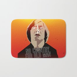 No Country For Old Man Poster Bath Mat