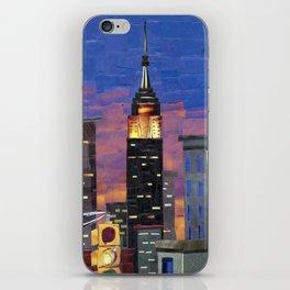 New York New York iPhone Skin