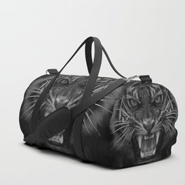 Heart of a Tiger Duffle Bag