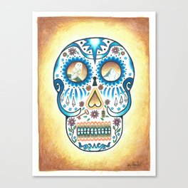 Pacific NW Skull Canvas Print
