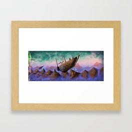 Sky Chase Framed Art Print