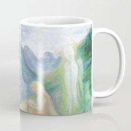 Spirits Of Mountains, Pyrenees, angels Coffee Mug