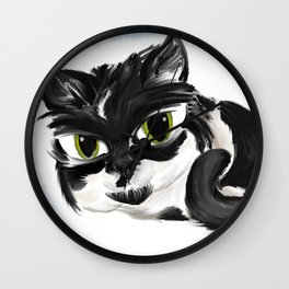 Naughty Cora Wall Clock