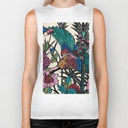 """Bird of Paradise"" by Margaret Preston Biker Tank"