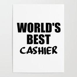 worlds best cashier Poster