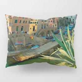 Italy. Cinque Terre - canals Pillow Sham