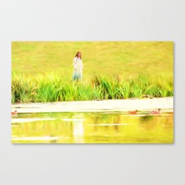 Lakeside Daydreams Canvas Print