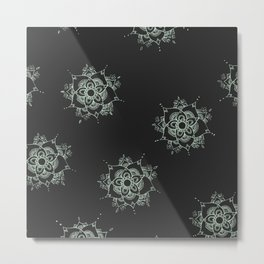 Tranquility Pattern Metal Print