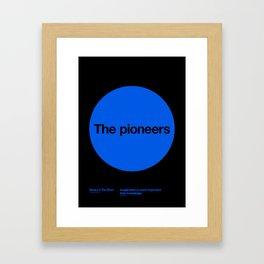 The pioneers Framed Art Print