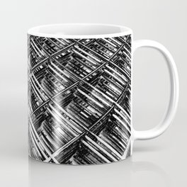 Rebar On Rebar - Industrial Abstract Coffee Mug