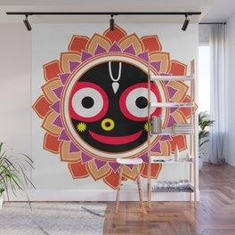Jahannatha Mandala, Hare Krishna, The Lord of the Universe, Big Smile Wall Mural