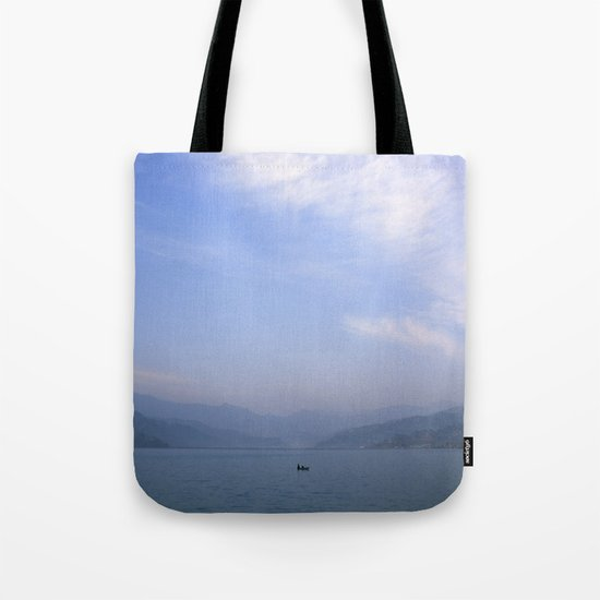 the fisherman's commute Tote Bag