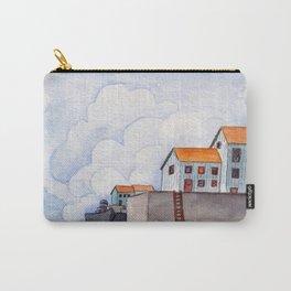 Clouds landscape illustration Carry-All Pouch