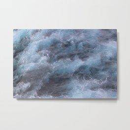 Dark and Stormy Ocean Metal Print