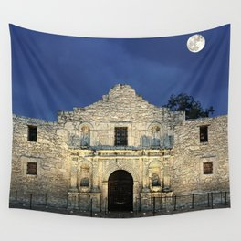 Night at the Alamo  Wall Tapestry