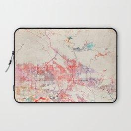 San Bernardino map California painting Laptop Sleeve